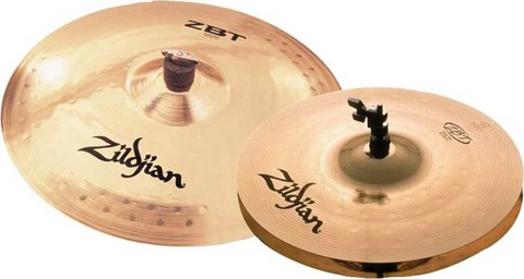 ZILDJIAN ZBT 3 STARTER BOX SET (4 PC) ZBTS3P-9