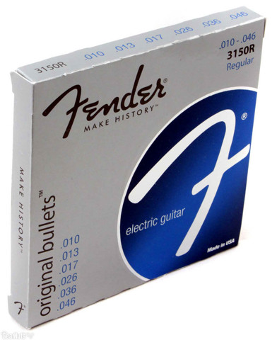 FENDER 0733150406 3150 REGULAR PURE NIKEL STRING