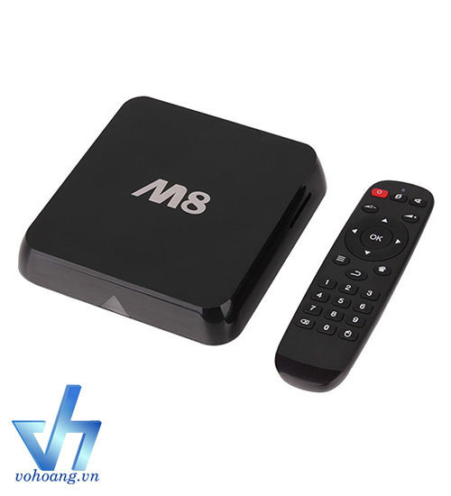 M8 android TV box giá rẻ