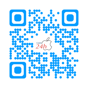 QR Code Apple Care 24h ios