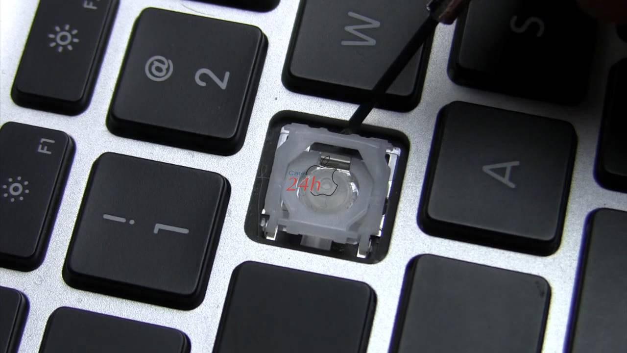 Macbook bị hư phím