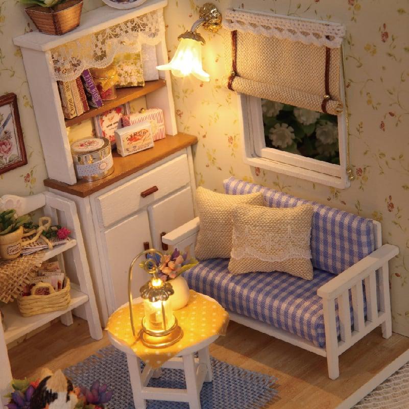 mô hình phòng ngủ handmade