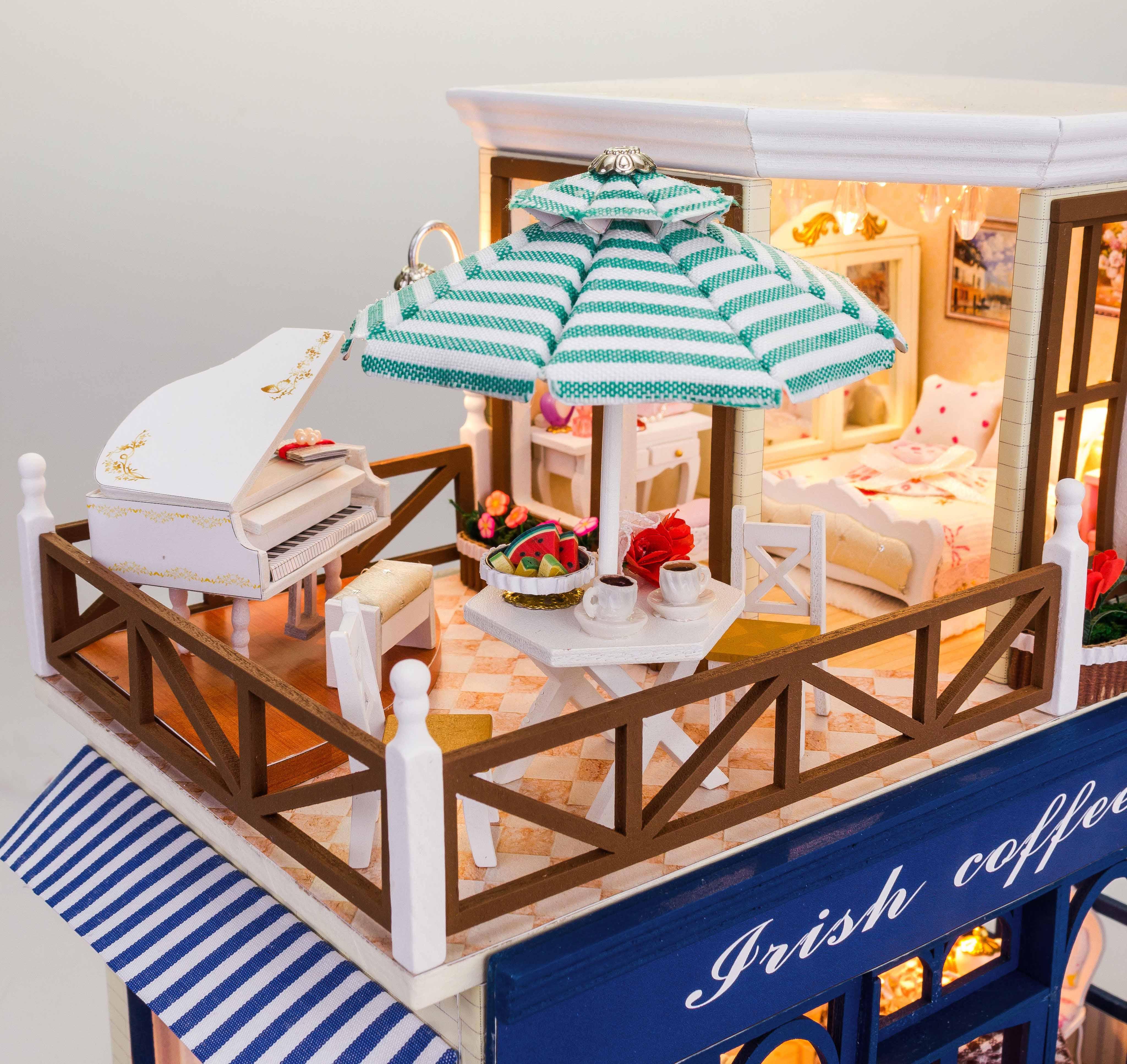 tiny mô hình nhà gỗ DIY,tiny nhà mô hình DIY