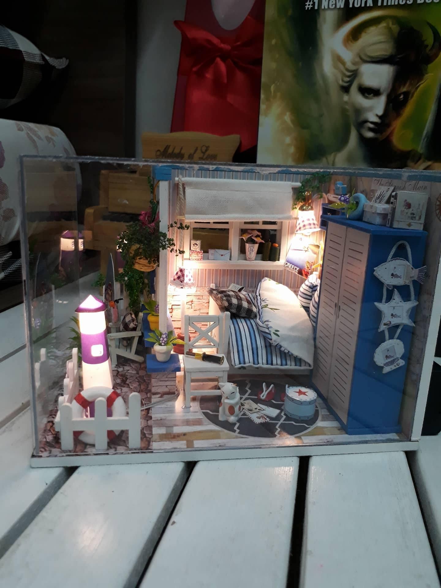 Mô hình phòng ngủ tuyệt đẹp của bạn Ngọc Trang