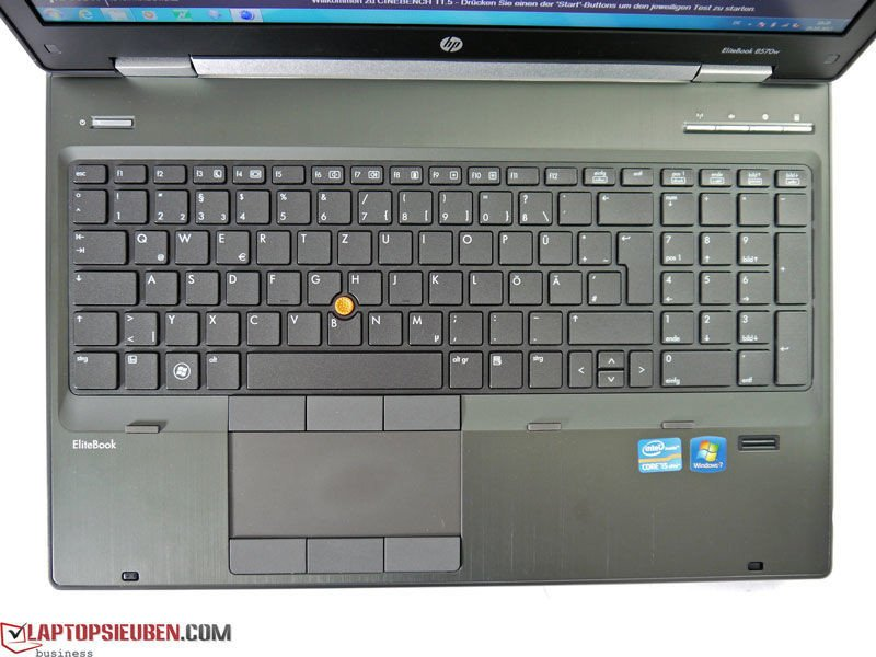 HP Elitebook 8570W core i7QM | Nvidia Quadro K1000M With 2GB