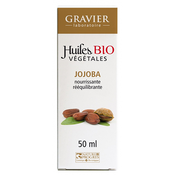 Dầu jojoba hữu cơ Gravier 50ml
