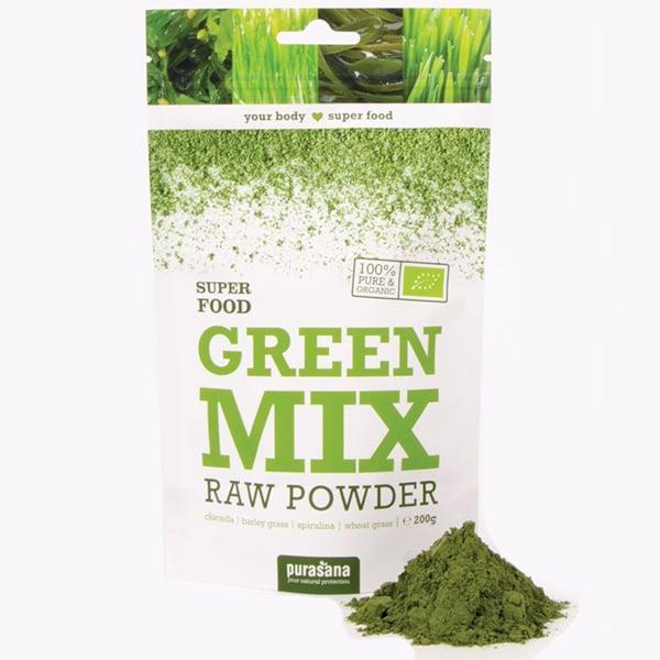 Bột hữu cơ Green Mix Purasana 200gr