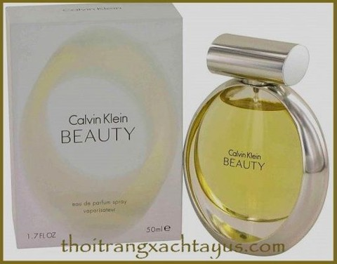 "NH 17 c - NƯỚC HOA "" Calvin Klein BEAUTY ""  Eau de parfum 50ml /made in france"