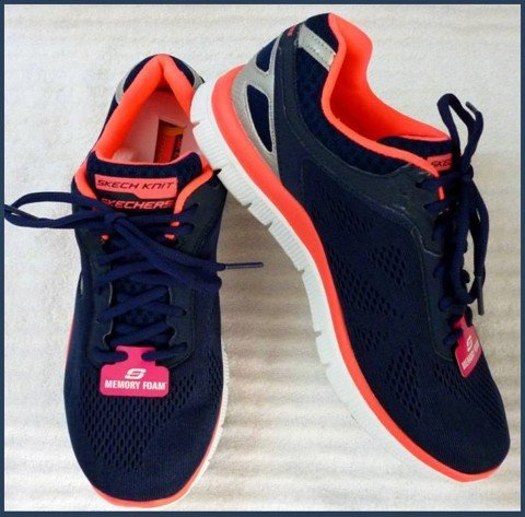 "G 02 - GIẦY THỂ THAO NỮ "" SKERCHER- running "" size 9 US = 39 VN cực nhẹ"