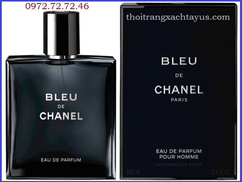 "NH 02 D - NƯỚC HOA "" CHANEL BLEU ""EAU DE PARFUM 100ml / made in france"