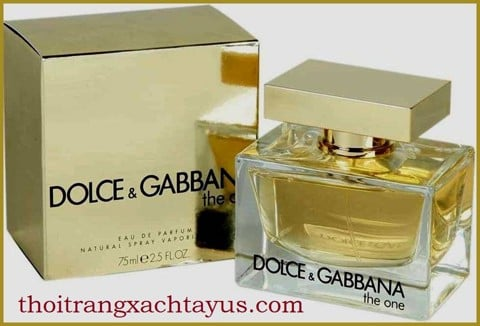 "NH 21 A - NƯỚC HOA "" Dolce & Gabbana The One "" 75ml eau de parfum"