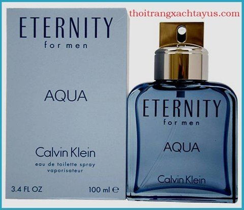 "NH 17 g - NƯỚC HOA HIỆU "" CK - ETERNITY AQUA "" for men 100ML"