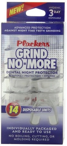 Hàm nhựa chống nghiến - Plackers Mouth Guard Grind No More - Dental Night Protector