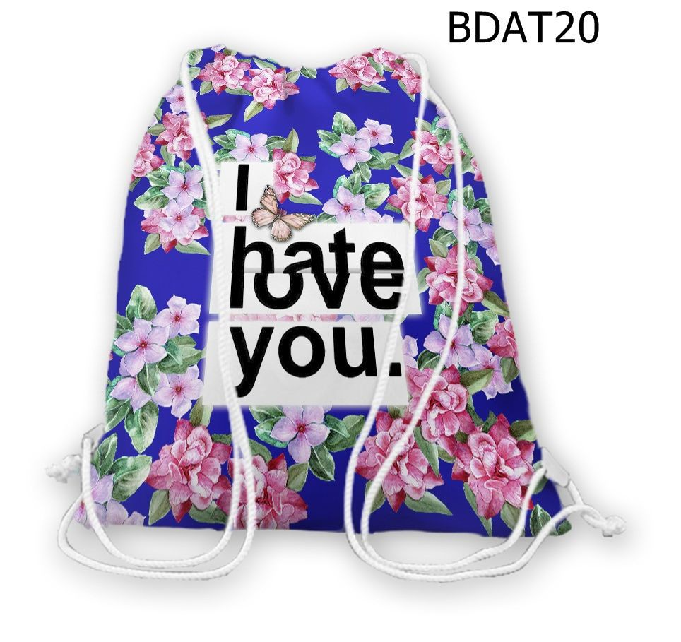 Túi rút Art I hate you - BDAT20