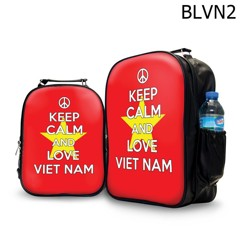 Ba lô keep calm and love Vietnam - BLVN2