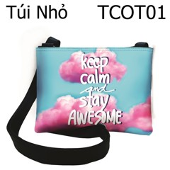 Túi keep calm & stay awesome - TCOT01