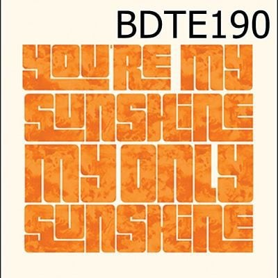 Túi rút You Are My Sunshine My Only Sunshine - BDTE190