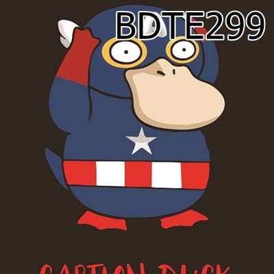 Túi rút Caption Duck - BDTE299