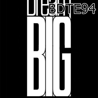 Túi rút Dream Big - BDTE94