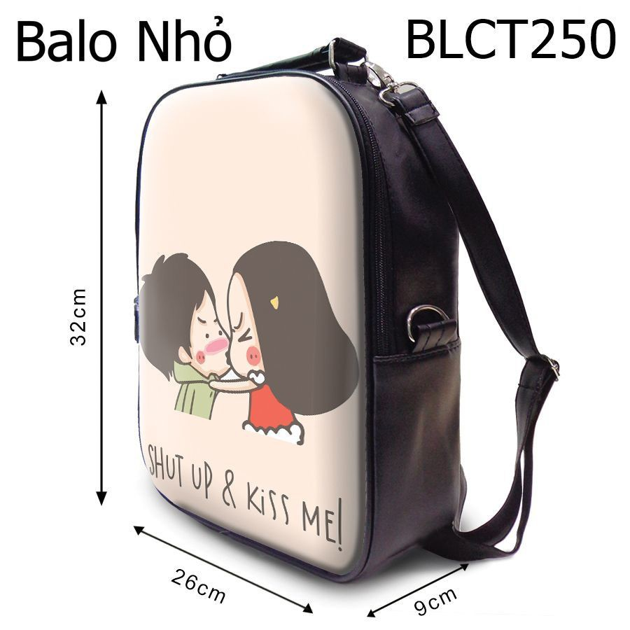 Ba lô shut up and kiss me - BLCT250