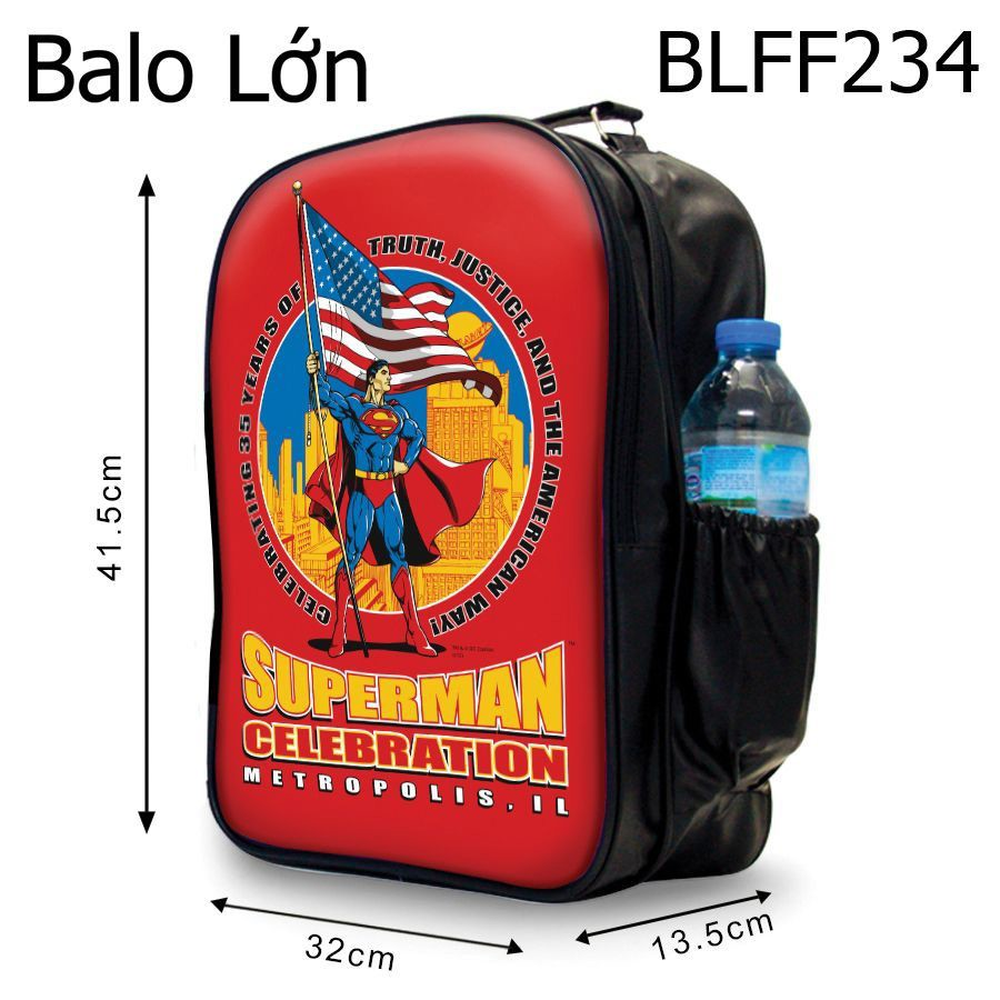 Ba lô superman celebration - BLFF234