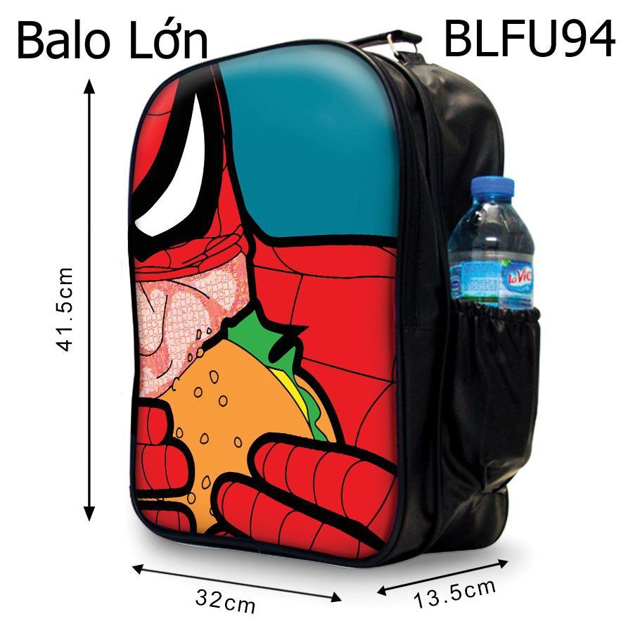 Balô Spiderman Ăn Hamburger - BLFU94