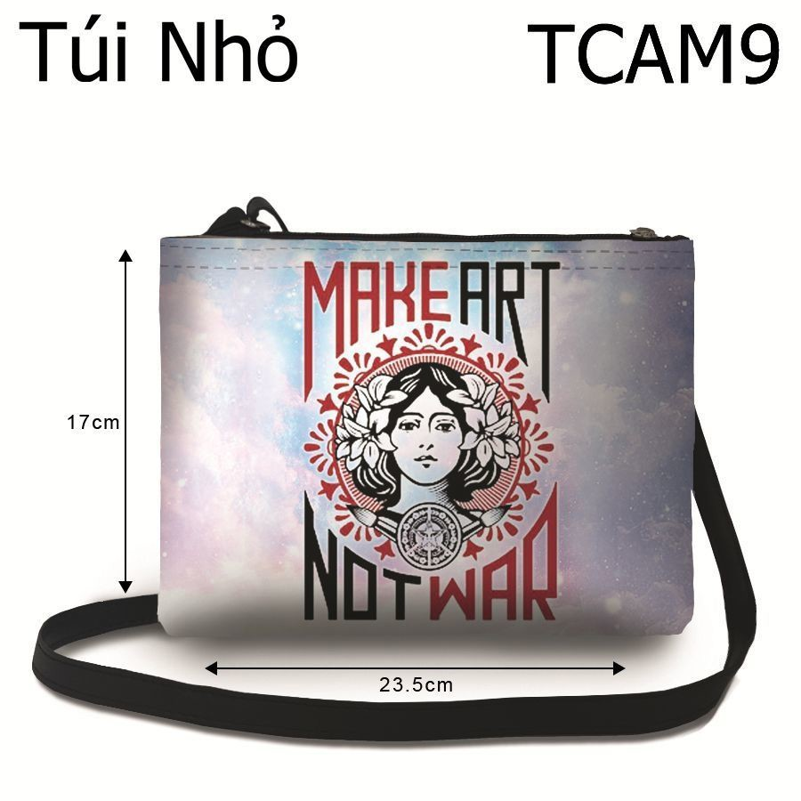 Túi Make Art Not War - TCAM9