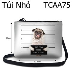 Túi chéo Bad Dog 09090 Police Dept - TCAA75