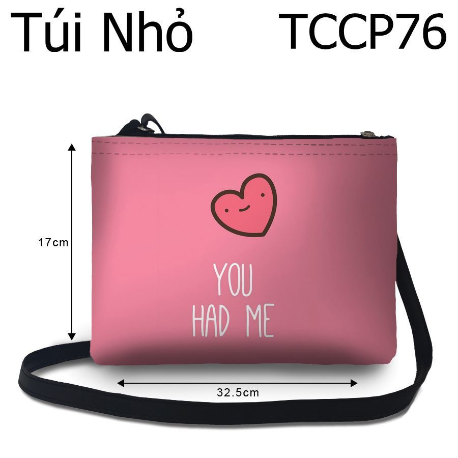 Túi chéo You had me  - TCCP76