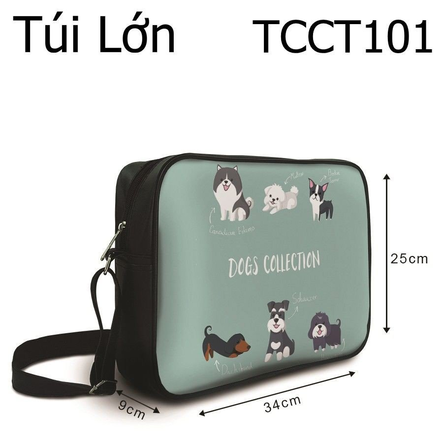 Túi chéo Dogs Collection - TCCT101