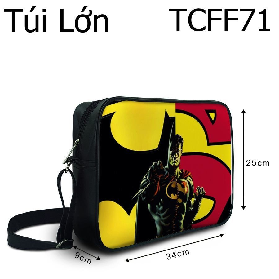 Túi chéo Batman VS Superman - TCFF71