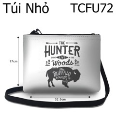 Túi chéo Bò rừng The Hunter don't live in the wood - TCFU72