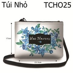 Túi Blue Flowers - TCHO25