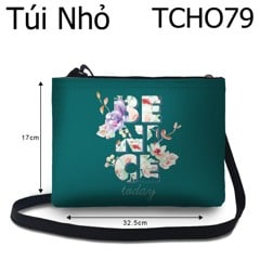 Túi chéo Be nice today - TCHO79