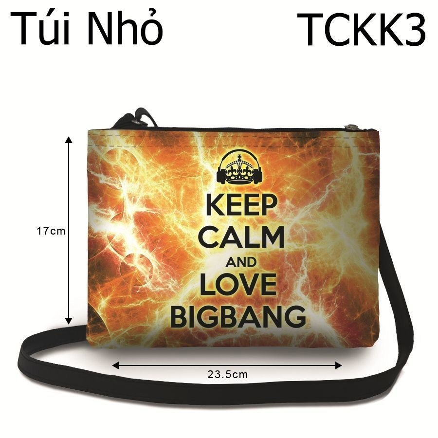 Túi Kpop Keep Calm & Love Big Bang - TCKK3