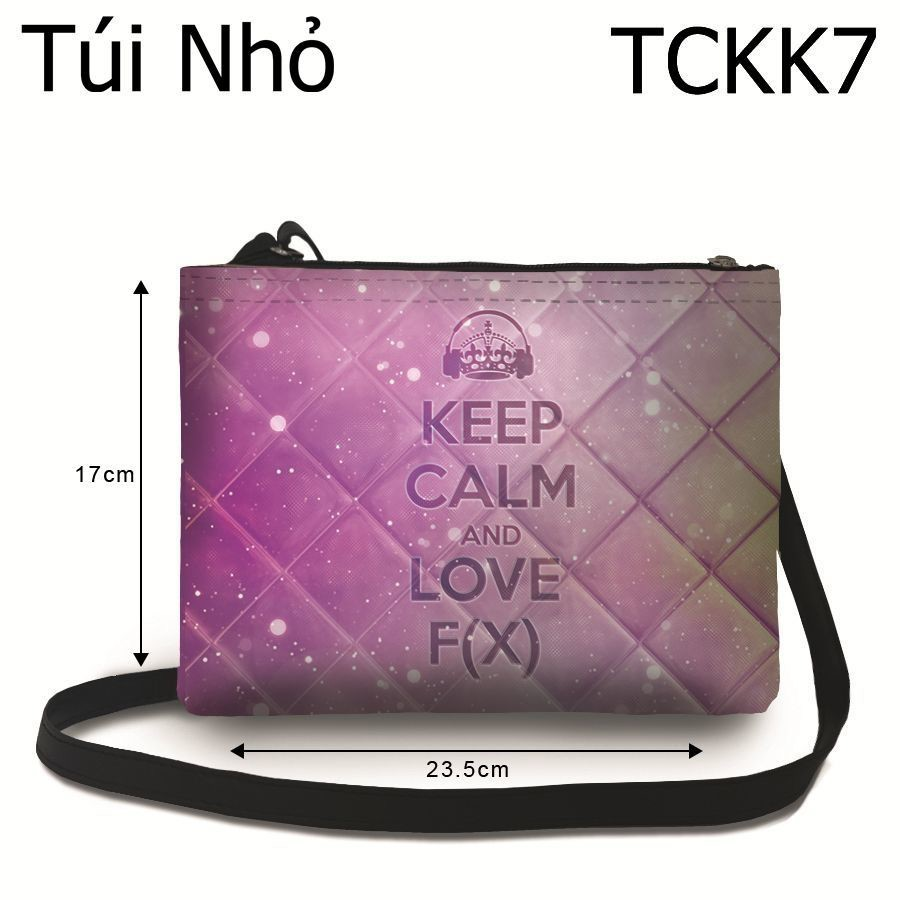 Túi Kpop Keep Calm & Love F(X) - TCKK7