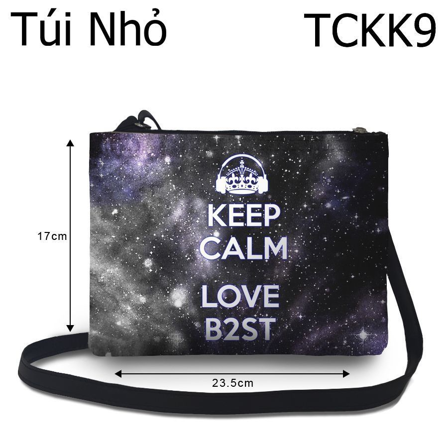 Túi Kpop Keep Calm & Love B2St - TCKK9
