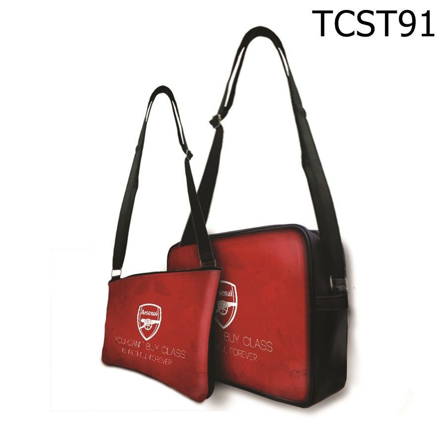 Túi chéo Arsenal You Can't Buy Class Be Faithful Forever - TCST91