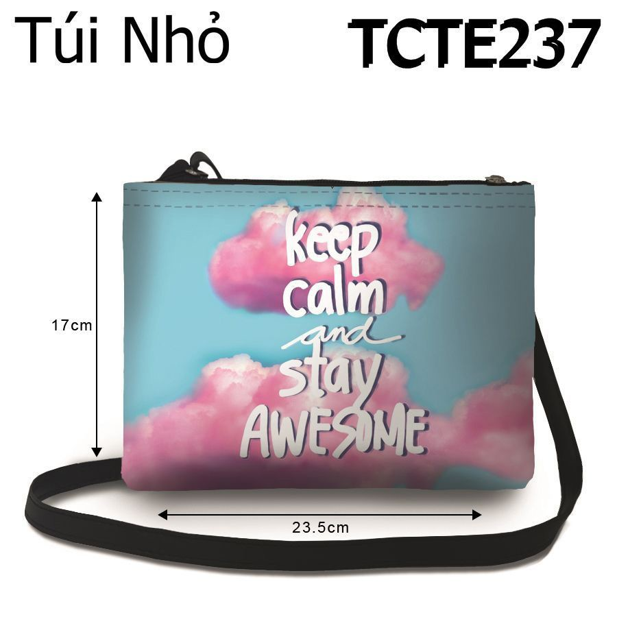 Túi Keep Calm And Stay Awesome - TCTE237