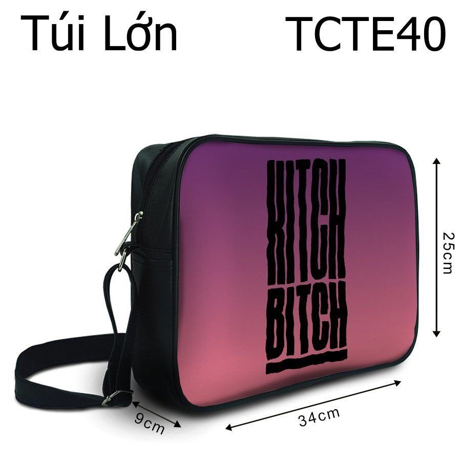 Túi Kitch Bicth - TCTE40