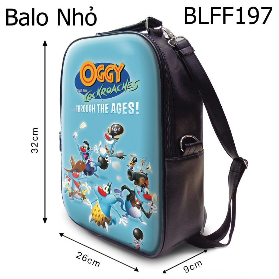 Ba lô Oggy Through The Ages - BLFF197