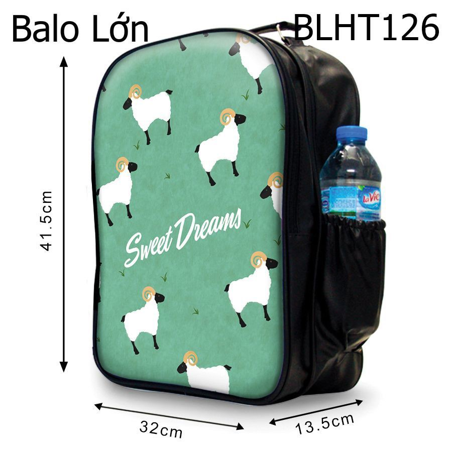 Balô Pattern Cừu Sweet Dream - blht126