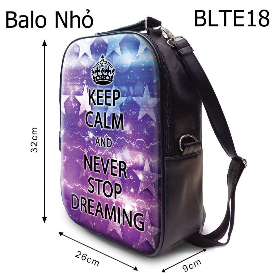Balô Quote Never Stop Dreaming - BLTE18