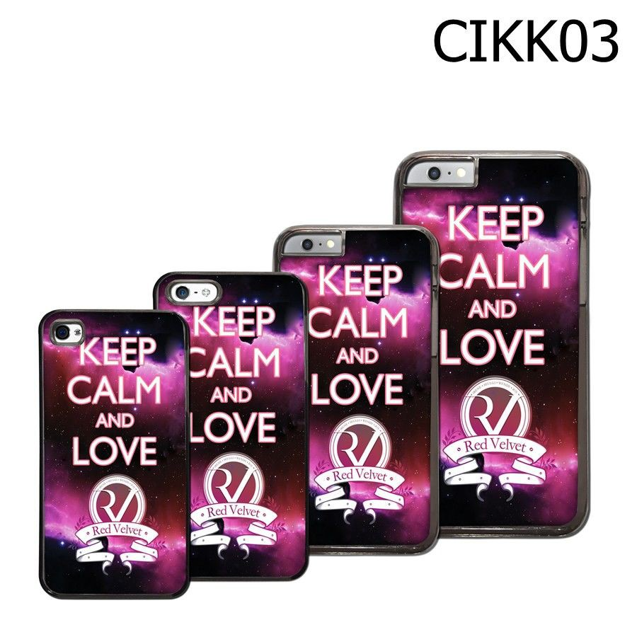 Keep Calm And Love Red Velvet - CIKK03