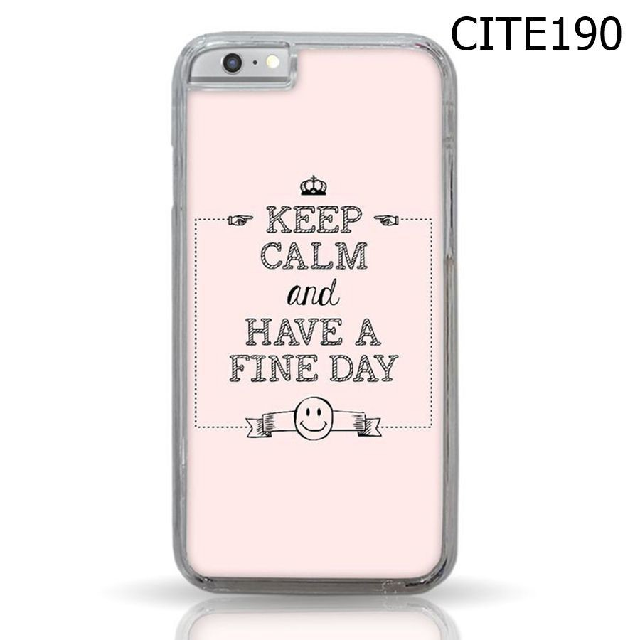 Keep Calm And Have A Fine Day - CITE190