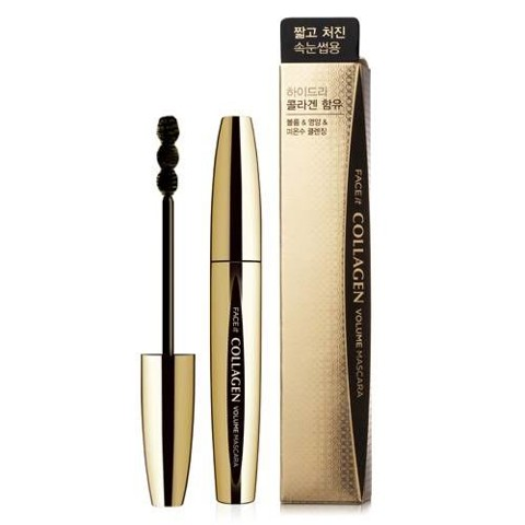 Mascara FACE IT COLLAGEN VOLUME MASCARA #02 FOR FINE & THIN EYE