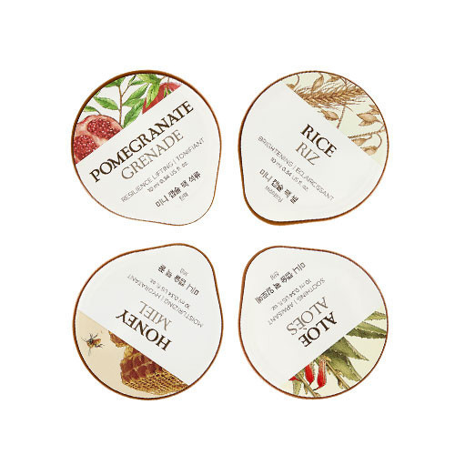 Set Mặt Nạ Đa Công Dụng MINI CAPSULE PACK DELUXE SET OF 4 FACE MASKS