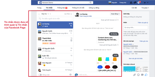 Facebook Chat trên Website