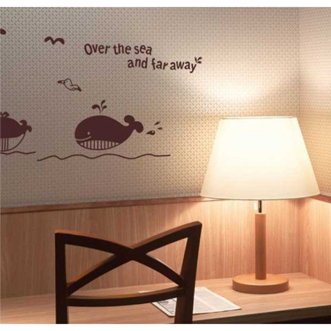 #BO003 Over The Sea - Decal dán tường - 1