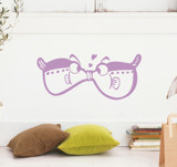 #BO007 The Love Fish - Decal dán tường - 1